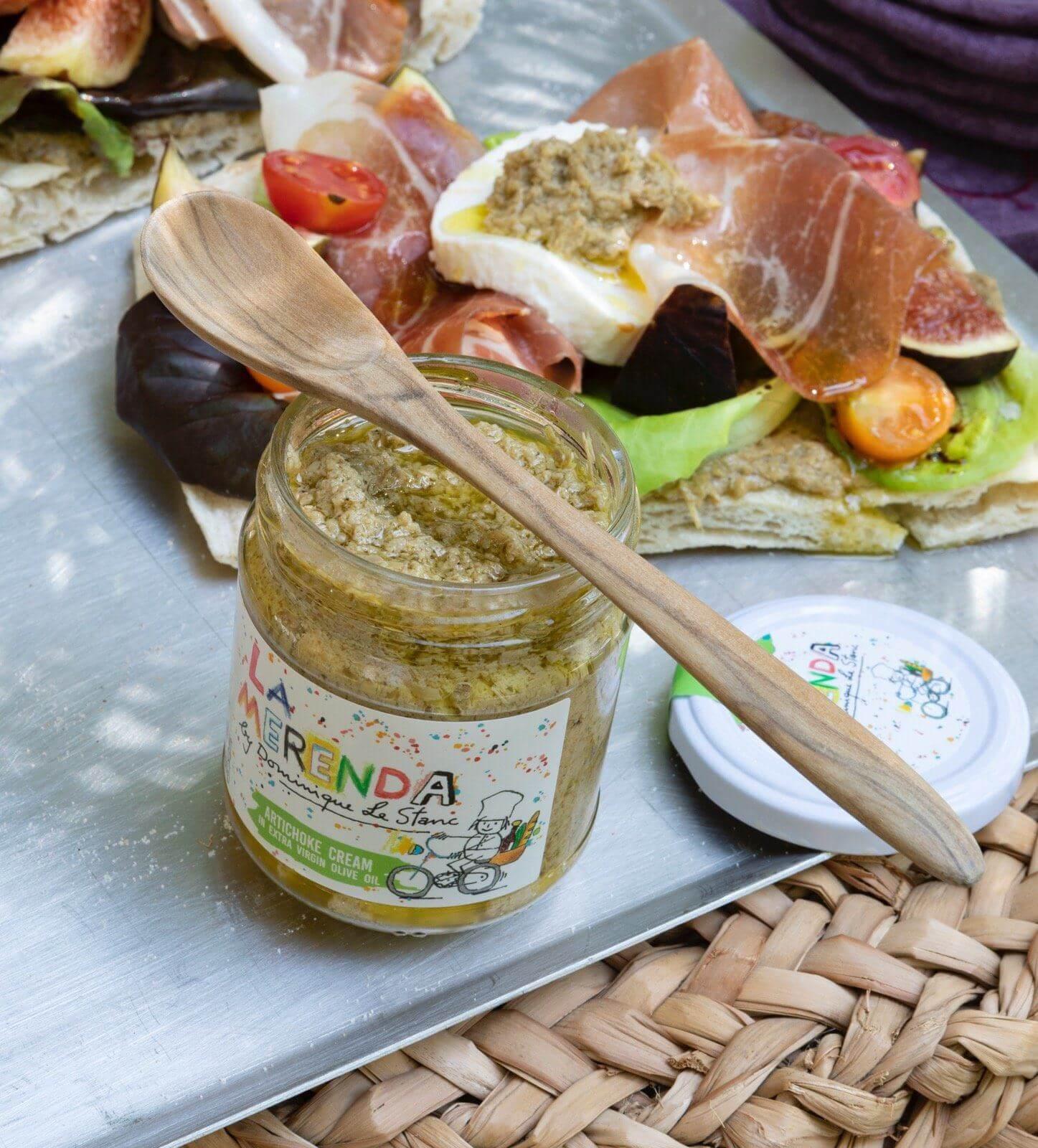 The Curious Epicurean Set la merenda - artichoke cream